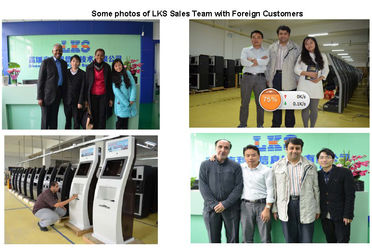 China Shenzhen lean kiosk system co.,ltd manufacturer profile