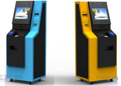 Free Floor Standing Bank Atm Kiosk Automated Teller