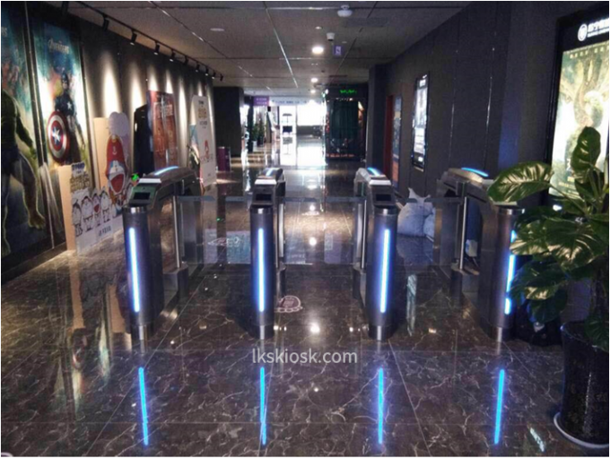 Anti Collision Speed Gates Access Control Cinema Entrance For Ticket Checking 1