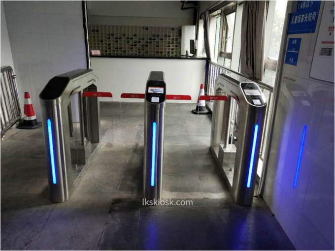 Anti Collision Speed Gates Access Control Cinema Entrance For Ticket Checking 3