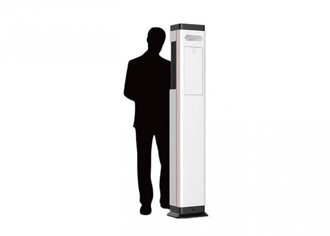 Automatic Free Standing Hand Sanitizer Dispenser , Hand Disinfectant Dispenser DC 9V
