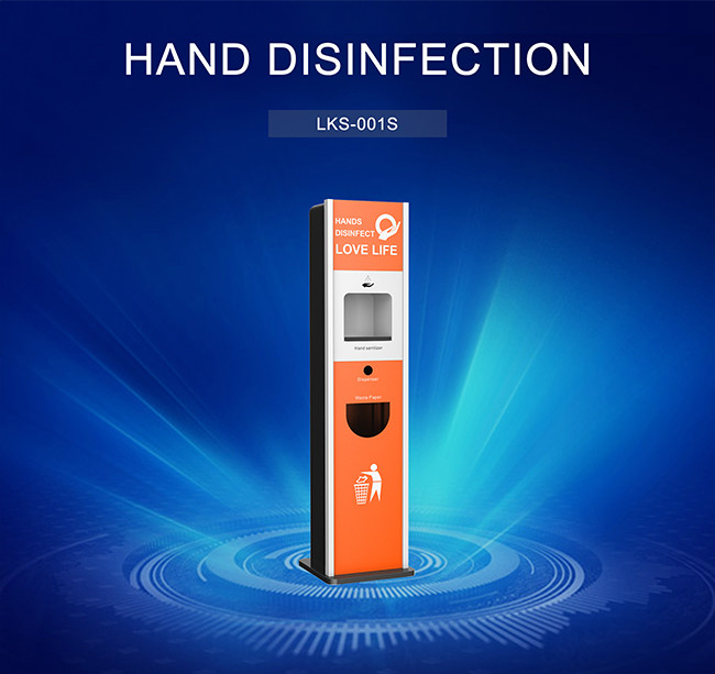 Vertical Purell Hand Sanitizer Stand Dispenser Hand Disinfection Antibacterial