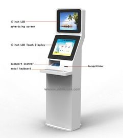 China Standard anti - explosion Computer Touch Kiosk windows 7 or Linux OS supplier