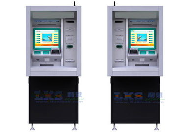China 17'' Touch Monitor ATM Money Machine Customized With Cash Dispenser supplier