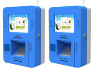 Wall Mounted Bill Payment Kiosk/Smart ATM Kiosk/Mini ATM with Cash/Coin Acceptor