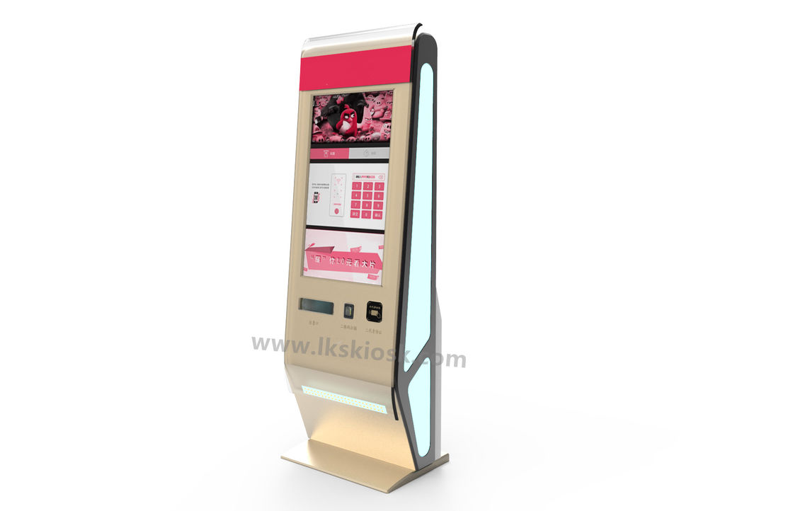 42 Quot Touch Screen Ticket Vending Machine With Ticket