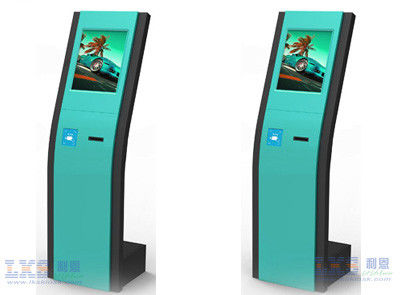 Slim Internet Android Touch Screen Self Service Kiosk With