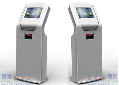 Ticket Dispenser Kiosk , Queue Ticket Machine With Android Touch Screen
