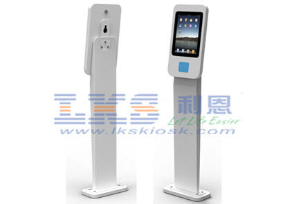 Free Standing NFC Mobile Payment Android / Apple Tablets Kiosk Terminal