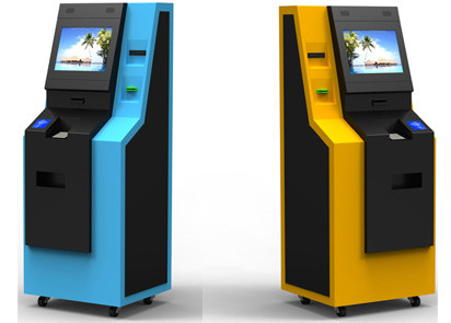 ATM Kiosk/Bill Payment Kiosk with Custom Desgin and Sercurity Pinpad/EMV Bank Card Reader/Cash Acceptor etc by LKSKiosk