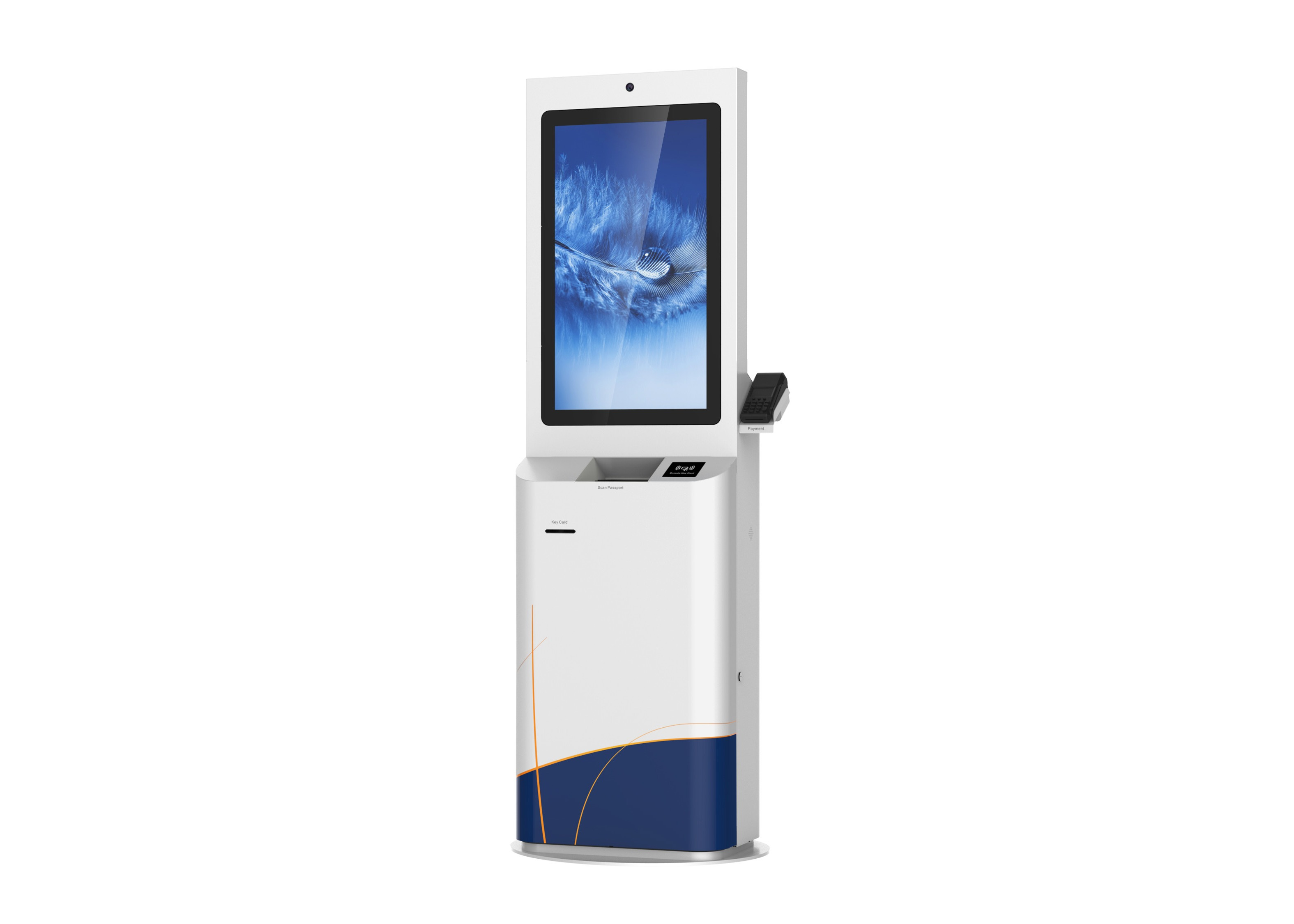 "UPS Windows XP Customer Service Kiosk 32"" / 42"" Dual LED / LCD Adverti For Finance"