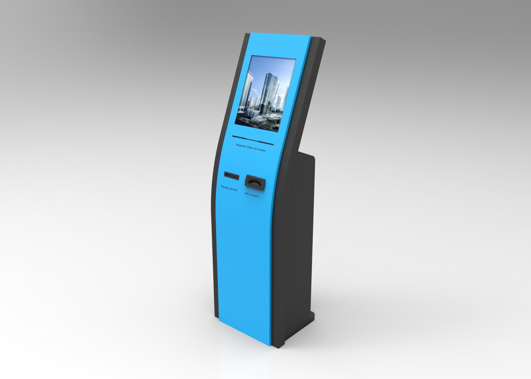 21 Inch Self Service Kiosk With PC , Interactive Information Kiosks For Theatre