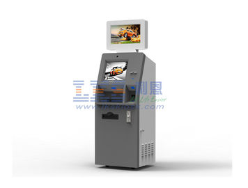 Automatic Cash Payment Kiosk Machine Barcode Scanner Encrypted Pin Pad