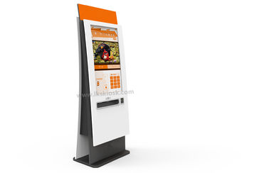 "42"" touch screen ticket vending machine with ticket dispenser, ticket printer"