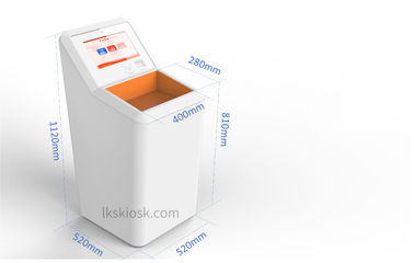 Waterproof IP54 Self Checkout Kiosk 17'' Industrious PC For Unattended Convenience Store