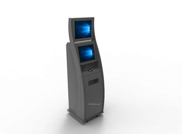 Custom Cash Payment Kiosk , Self Service Payment Kiosk Contactless IC Card Reader