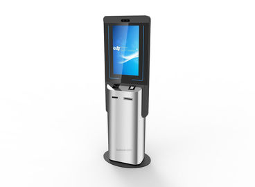Advertisment Touch Screen Information Kiosk Cash / E Payment For Quick Service