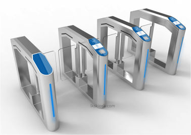 Stainless Steel Speed Gates Access Control LKS Self Service With Safe Movement