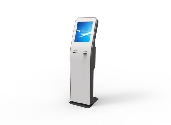 Receipt printer information kiosk